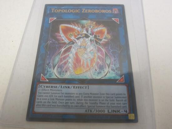 KONAMI YU-GI-OH TOPOLOGIC ZEROBOROS GOLD DARK HOLOGRAPHIC FOIL 1ST EDITION RARE SDRR-EN041