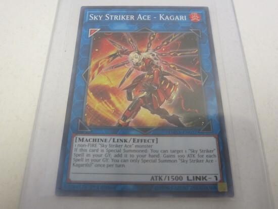 KONAMI YU-GI-OH SKY STRIKER ACE - KAGARI FIRE HOLOGRAPHIC FOIL 1ST EDITION RARE DASA-EN027