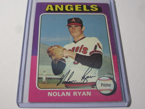 1975 TOPPS NOLAN RYAN #500 ANGELS