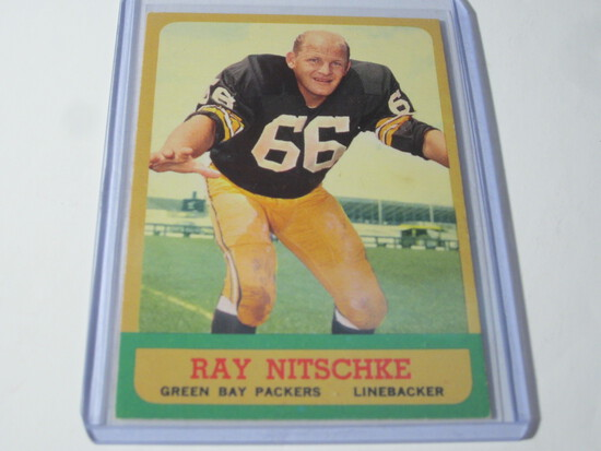 1963 TOPPS RAY NITSCHKE #96 EX GREEN BAY PACKERS