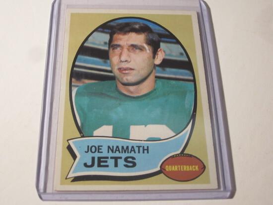1970 TOPPS JOE NAMATH #150 EX JOE NEW YORK JETS