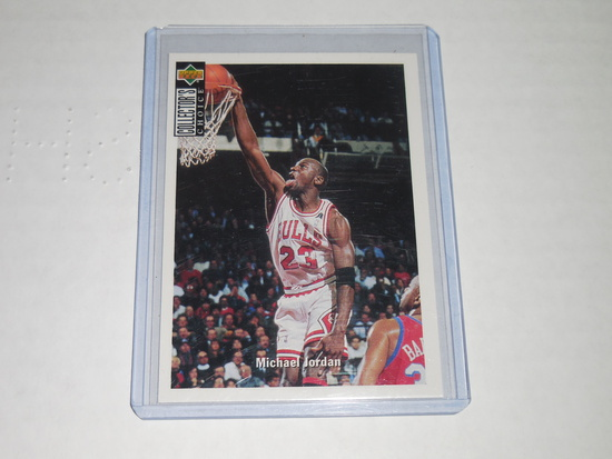 1994-95 UPPER DECK COLLECTORS CHOICE #240 - MICHAEL JORDAN CHICAGO BULLS CARD