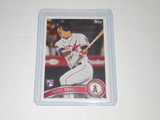 2011 TOPPS UPDATE #US175 - MIKE TROUT LOS ANGELES ANGELS REPRINT ROOKIE CARD