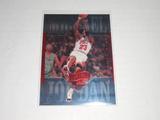 1999-00 UPPER DECK BASKETBALL - MICHAEL JORDAN ATHLETE OF THE CENTURY HOLOFOIL CARD FADEAWAY