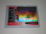 1993-94 UPPER DECK BASKETBALL #TD3 - SCOTTIE PIPPEN TRIPLE DOUBLE HOLOFOIL REFRACTOR PRIZM CARD