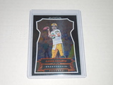 2016 PANINI FOOTBALL #115 - AARON RODGERS KNIGHTS TEMPLAR HOLOGRAPHIC FOIL PARALLEL CARD GB PACKERS