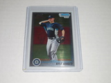2010 BOWMAN CHROME PROSPECTS #BCP195 - KYLE SEAGER 1ST BOWMAN CHROME ROOKIE CARD SEATTLE MARINERS