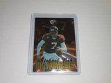2001 PRESS PASS FOOTBALL #2 - MICHAEL VICK BIG NUMBERS HOLOGRAPHIC FOIL INSERT ROOKIE CARD