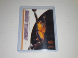 2000-01 UPPER DECK BASKETBALL GAME JERSEY EDITION #438 - KOBE BRYANT PURPLE REIGN CARD LA LAKERS
