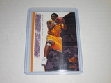 2000-01 UPPER DECK BASKETBALL #445 - GAME JERSEY EDITION PURPLE REIGN KOBE BRYANT CARD LA LAKERS