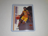 2000-01 UPPER DECK BASKETBALL GAME JERSEY EDITION #439 - KOBE BRYANT PURPLE REIGN LA LAKERS CARD