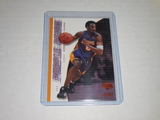 2000-01 UPPER DECK BASKETBALL GAME JERSEY EDITION #444 - KOBE BRYANT LA LAKERS PURPLE REIGN CARD