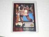 1999-00 UPPER DECK BASKETBALL - MICHAEL JORDAN - THE CHAMPIONSHIP YEARS 1991-1998 HOLOFOIL CARD