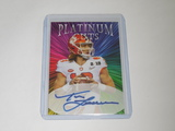 2020 ACEO ICONIC INK - TREVOR LAWRENCE CLEMSON TIGERS LIMITED EDITION FACSMILE AUTOGRAPH ROOKIE CARD
