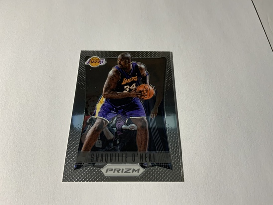 2012/13 PANINI PRIZM SHAQUILLE O'NEAL #166 LOS ANGELES LAKERS