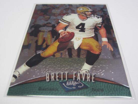 1998 TOPPS FINEST #120 BRETT FAVRE GREENBAY PACKERS FOOTBALL CARD