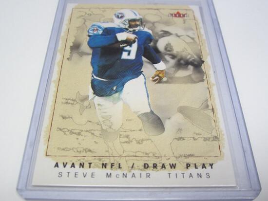 2003 FLEER SKYBOX SERIAL #317/535 11 OF 15DP STEVE MCNAIR TENNESSEE TITANS FOOTBALL CARD