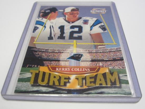 1996 PINNACLE SUMMIT 5 OF 16 SERIAL #2914/4000 KERRY COLLINS CAROLINA PANTHERS