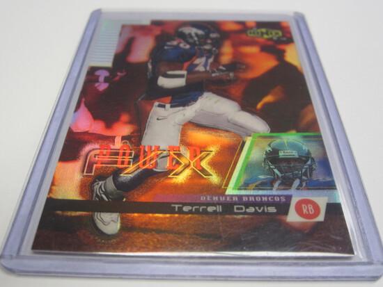 1999 UPPER DECK #P3 TERRELL DAVIS DENVER BRONCOS FOOTBALL CARD