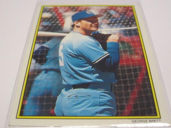 1989 TOPPS CARD#14 OF 60 GEORGE BRETT KANSAS CITY ROYALS BASEBALL CARD