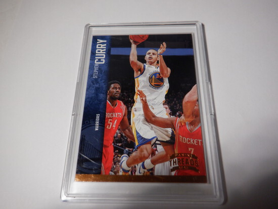 2012/13 PANINI THREADS STEPHEN CURRY #41 GOLDEN STATE WARRIORS