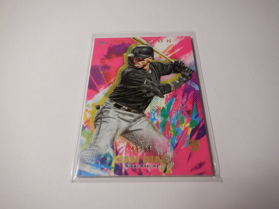 2020 TOPPS INCEPTION ISAN DIAZ #42 NUMBERED 59/99 ROOKIE CARD