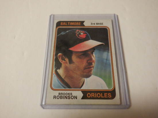 1974 TOPPS BROOKS ROBINSON #160 BALTIMORE ORIOLES