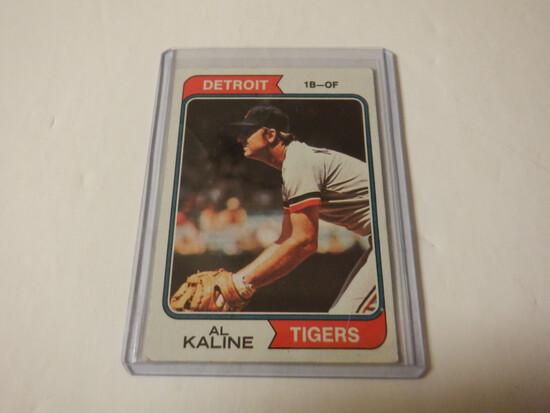1974 TOPPS AL KALINE #215 DETROIT TIGERS