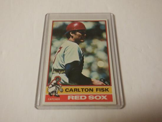 1976 TOPPS CARLTON FISK #365 BOSTONM RED SOX