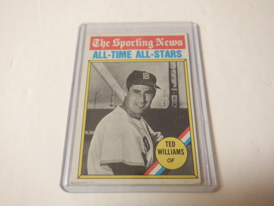 1976 TOPPS TED WILLIAMS #347 BOSTON RED SOX