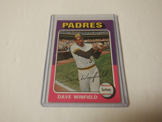 1975 TOPPS DAVE WINFIELD #61 SAN DIEGO PADRES