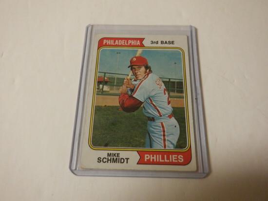 1974 TOPPS MIKE SCHMIDT #283 PHILADELPHIA PHILLIES