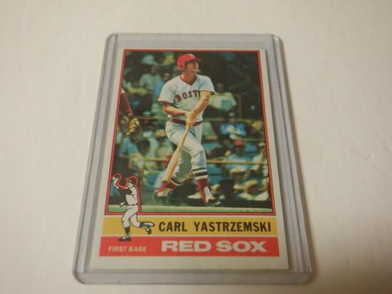 1976 TOPPS CARL YASTRZEMSKI #230 BOSTON RED SOX