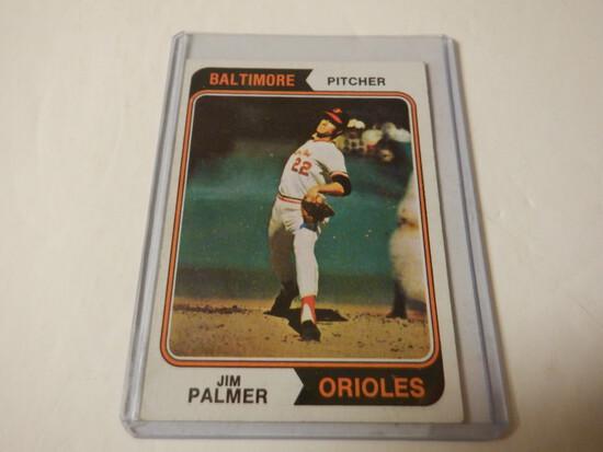 1972 TOPPS JIM PALMER #40 BALTIMORE ORIOLES