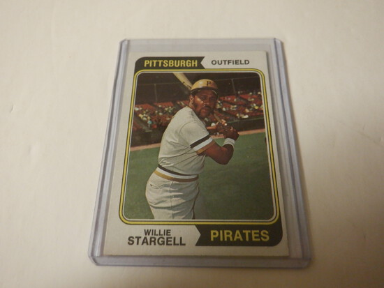 1974 TOPPS WILLIE STARGELL #100 PITTSBURGH PIRATES