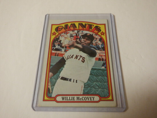 1972 TOPPS WILLIE MCCOVEY #280 SAN FRANCISCO GIANTS