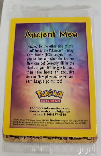Ancient MEW 2000 Pokémon WOTC Movie Base Promo 2000 NM/MINT