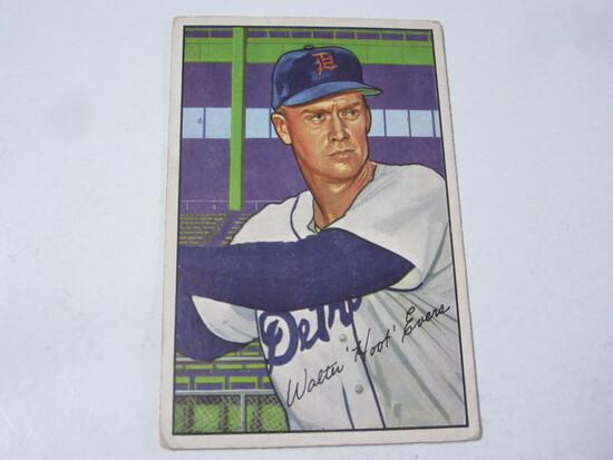 1952 Bowman #111 Walter Hoot Evers