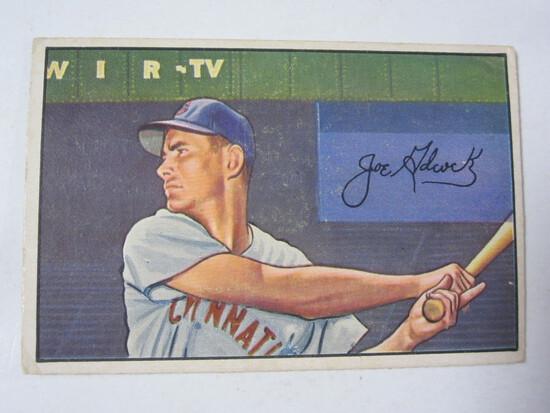 1952 Bowman #69 Joe Adcock