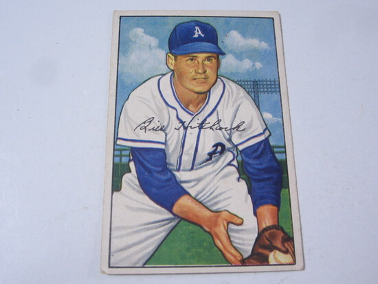1952 Bowman #89 Billy Hitchcock
