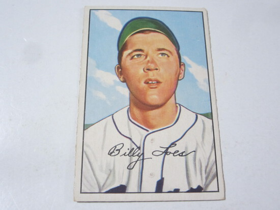 1952 Bowman #240 Billy Loes