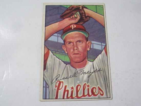 1952 Bowman #220 Russ Meyer