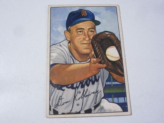 1952 Bowman #91 Don Kolloway