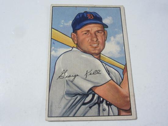 1952 Bowman #75 George Kell