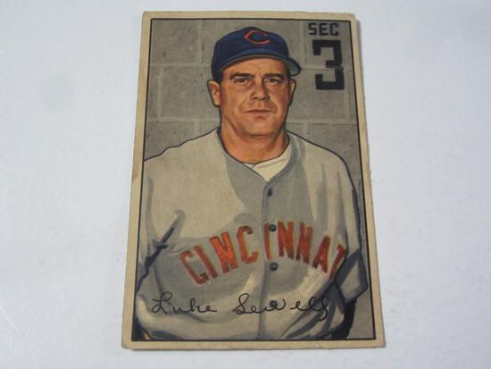1952 Bowman #94 Luke Sewell