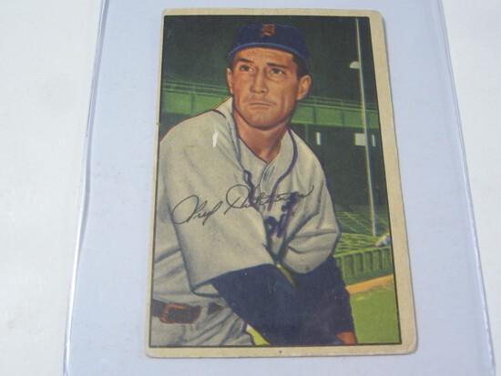 1952 Bowman #3 Fred Hutchison
