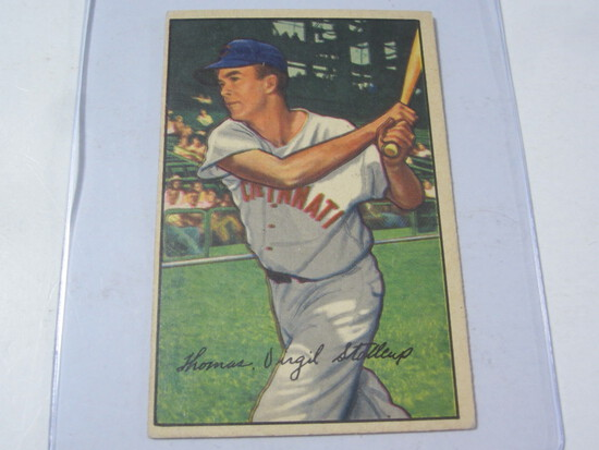 1952 Bowman #6 Virgil Red Stallcup