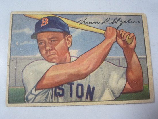 1952 Bowman #9 Vern Stephens
