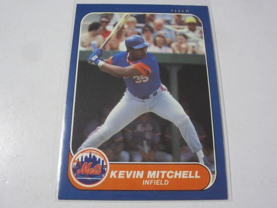 Kevin Mitchell New York Mets 1986 Fleer Update #U-76