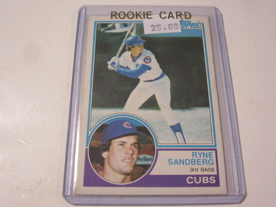 Ryne Sandberg Chicago Cubs 1983 Topps Rookie #83